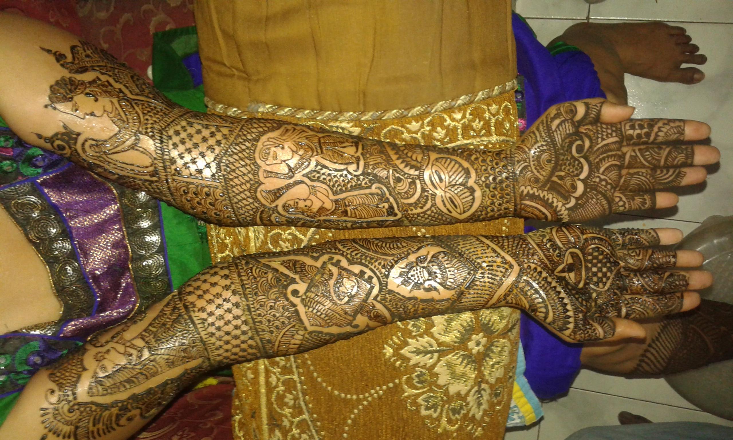 Mehndi For Godh Bharai : Mehndi design vote for my best mehendi craftsvilla