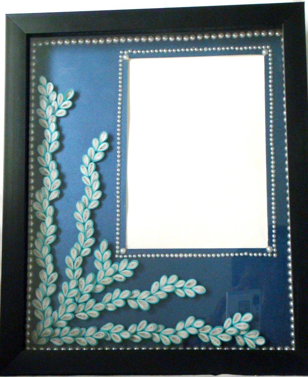 how to make a simple photo frame at home | Frameswalls.org